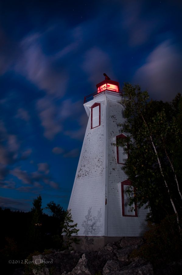 Big Tub Lighthouse  Tobermory Lighthouse 2 by Ron Clifford, via 500px