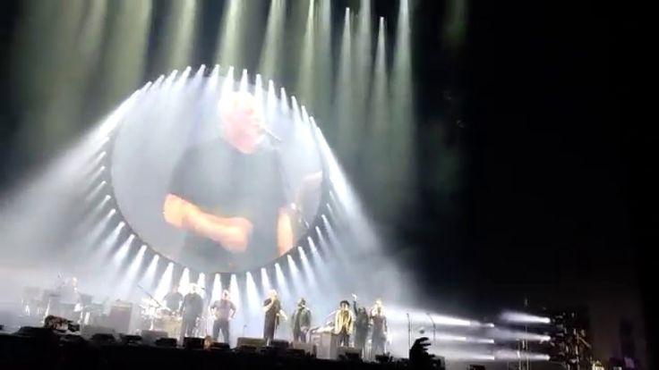 David Gilmour - São Paulo 12/12/2015 - Allianz Parque Bye bye...