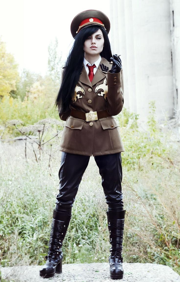 Industrial and Diesel Punk #Goth girl Sergei Dragunov by   skoomaCat