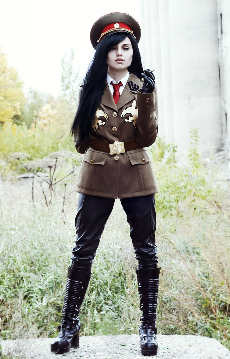 Industrial and Diesel Punk #Goth girl Sergei Dragunov by   skoomaCat