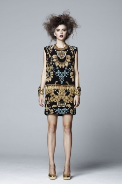 ROMANCE WAS BORN TUCK DRESS - would love to own a RWB piece. wearable art at its best.