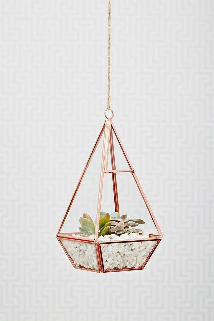 These are so creative - I always love to have some greenery around me in the house so this is perfect! #homedecor #interiordesign #rosegold