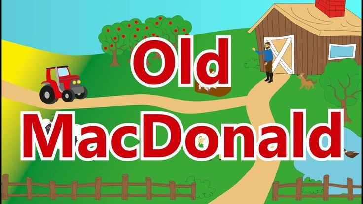 Old MacDonald Had a Farm - Animal Sounds Song for Children, Babies and Toddlers