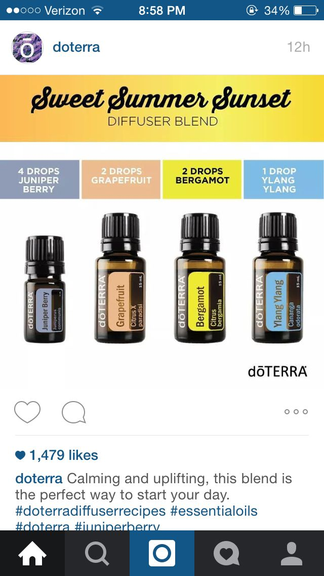 78 best Doterra images on Pinterest | Diffuser blends, Doterra ...