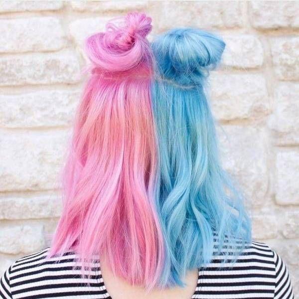 How To Get Half And Half Hair Color Con Imagenes Ideas De