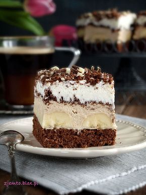 "Cake ""Coffee-banana"""