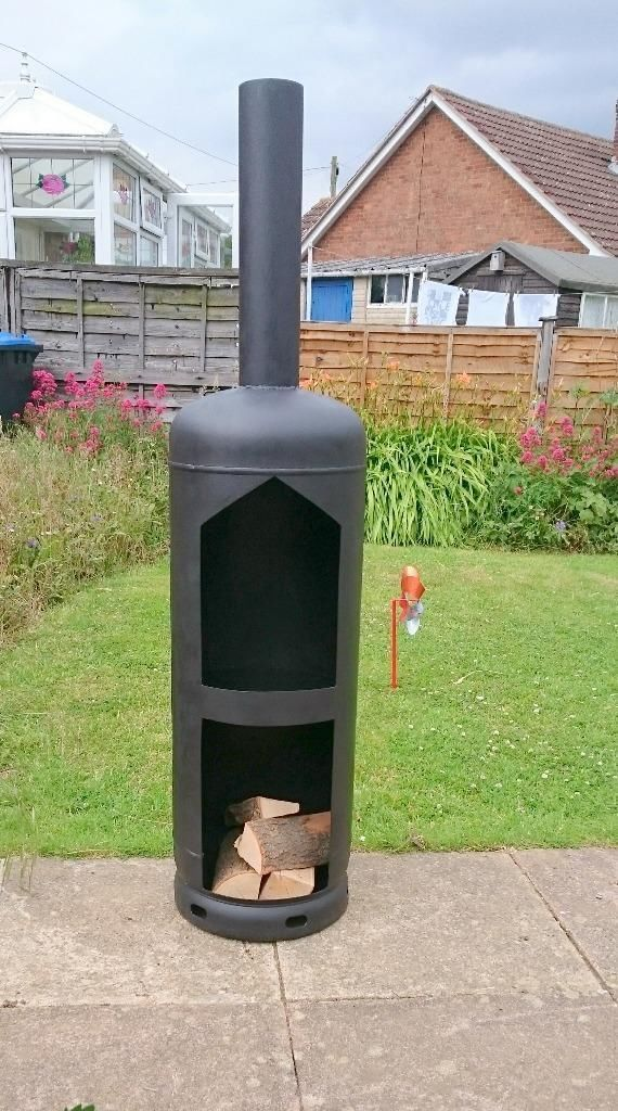 lpg bottle log burner - Google Search