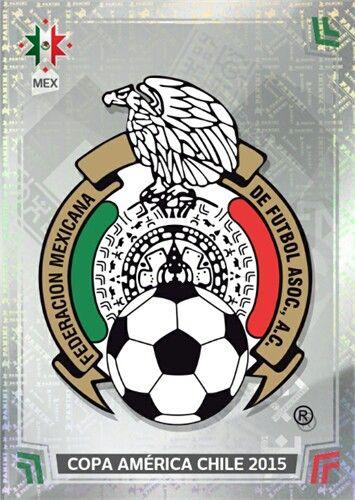 044 Logo - Mexico - Copa America Chile 2015 - PANINI