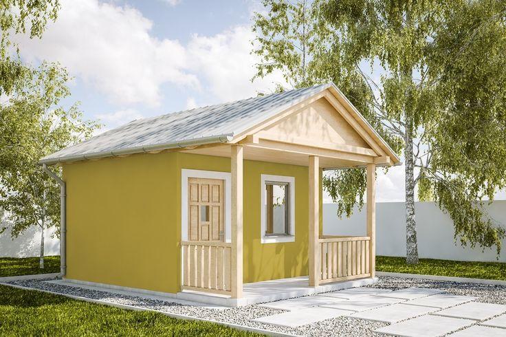 DOM.PL™ - Projekt domu KP G228 - Budynek gospodarczy CE - GARAŻ KT3-48 - gotowy projekt domu