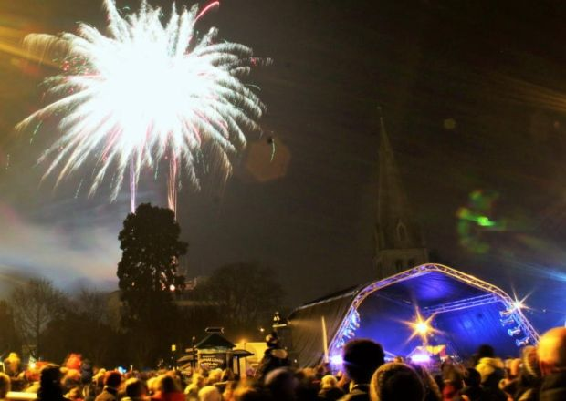 Winter wonderland for Christmas lights switch-on in Northamptonshire town - http://streetiam.com/winter-wonderland-for-christmas-lights-switch-on-in-northamptonshire-town/