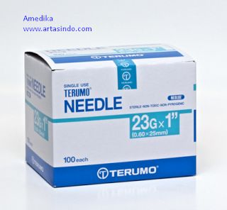Terumo Needle 23G :: ArtaSindo
