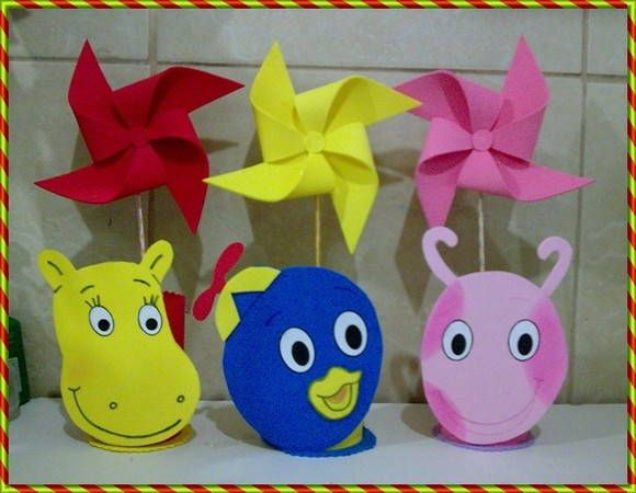 Backyardigans on Pinterest | Mesas, Party Bags and Cupcake Ideas
