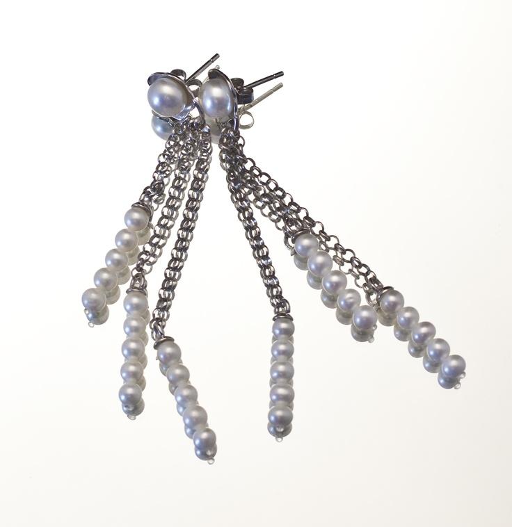 Battiquore Milano | Orecchini in argento 925 Perle coltivate di acqua dolce
