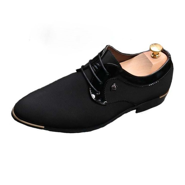 High Quality British Men Shoes Lace-Up Bullock Business Dress Casual Men's Business Shoes Cloth Shoes Male Formal Shoes