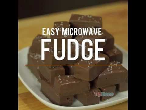 Easy Microwave Fudge for peanut and tree nut allergies ...  #pn #tn use safe chips. :)