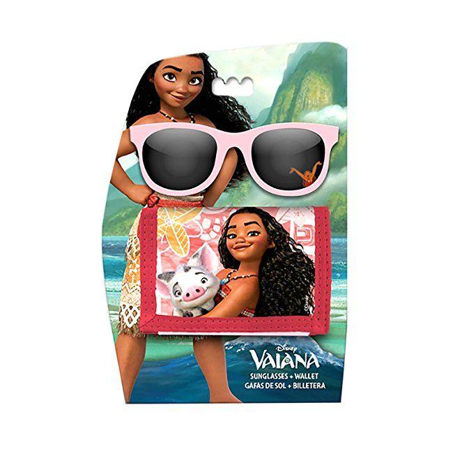 Disney Vaiana Vaiana Moana Sunglasses And Wallet Setofficial