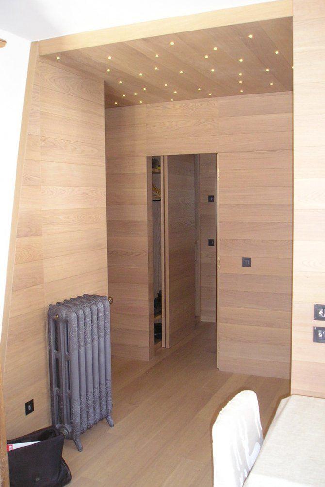Appartamento a Foppolo - progetto di interior design  Parquet a pavimento e pareti Gazzotti Termosifone Scirocco modello Tiffany
