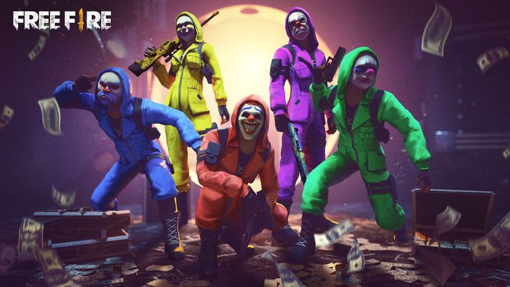 Our Complete Criminal Squad Criminal Bundle Full Squad Gameplay Garena Free Fire Youtube Fire Image Download Cute Wallpapers Squad Game