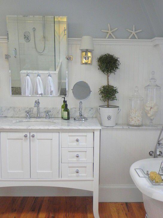 shaker vanity design ideas pictures remodel and decor - Shaker Bathroom 2015