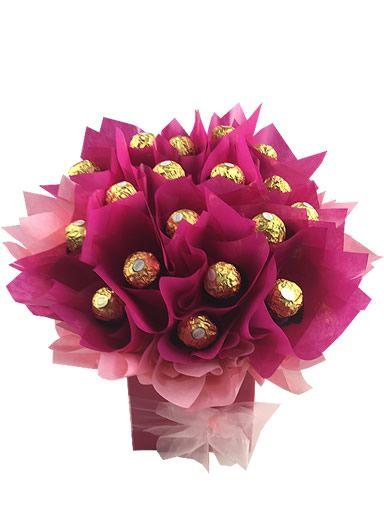 Pink Ferrero Rocher Bouquet