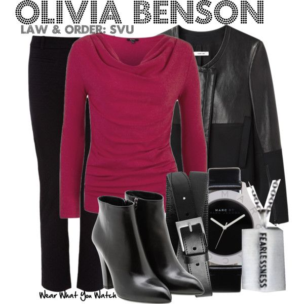 Inspired by Mariska Hargitay as Olivia Benson on Law & Order SVU.