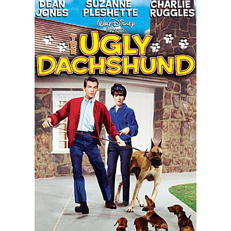 The Ugly Dachshund DVD   Comedy   Disney Store