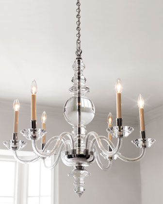 """VISUAL COMFORT """"George II"""" Chandeliers & Sconce - Horchow"""