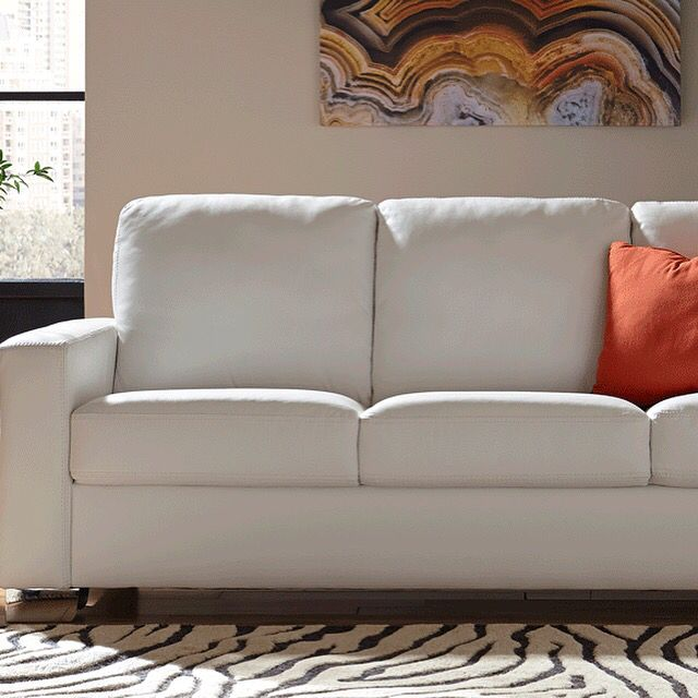 We Love This Gorgeous White Leather Sofa At Blumu0027s. 5927 Westheimer Houston  713 783
