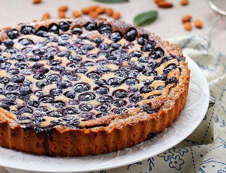 Пирог с черникой - рецепты с фото. Как приготовить пирог с черникой и сметаной
