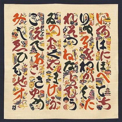 Keisuke Serizawa Famous for pattern printing