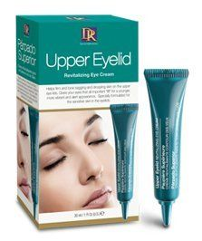 "Daggett & Ramsdell Upper Eyelid Revitalizing Eye Cream, 1 Oz. by Daggett & Ramsdell. $8.30. Gives your eyes that all important ""lift"" for a younger, more vibrant and alert appearance. Helps firm and tone sagging and drooping skin on the upper eye lids. pecially formulated for the sensitive skin in the eyelids. Specially formulated for the sensitive skin on and around the eyelids, this product will help firm and tone sagging and drooping skin on the upper eyelids. Dag..."