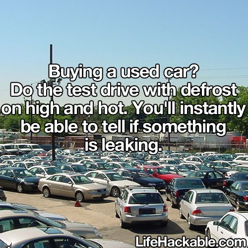 a decent list of car buying tips pieced together from past posts: from Life Pro Tips on Reddit