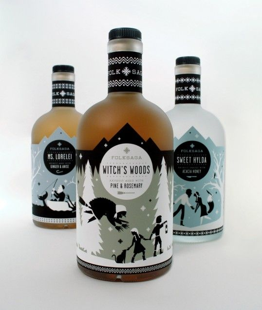 Nice Illustrated labels