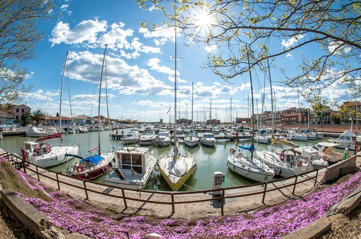Sole, colori e barche #portodellamaremma