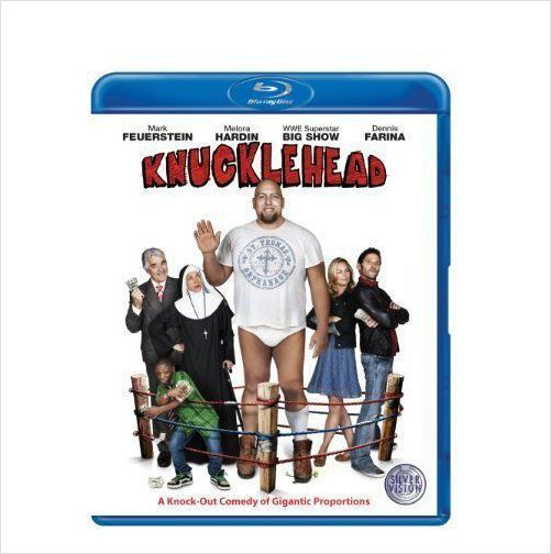 KNUCKLEHEAD WWE STUDIO PRESENTS A KNOCK-OUT-COMEDY BLU-RAY DVD BRAND NEW SEALED £3.95+FREE POSTAGE