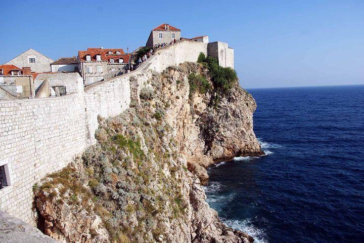 Dubrovnik Sehenswürdigkeiten - die Stadtmauer