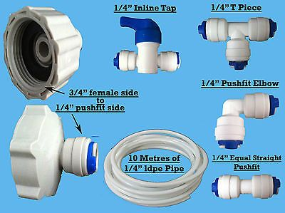 American Style Fridge Freezer Water Filter Pipe Tubing