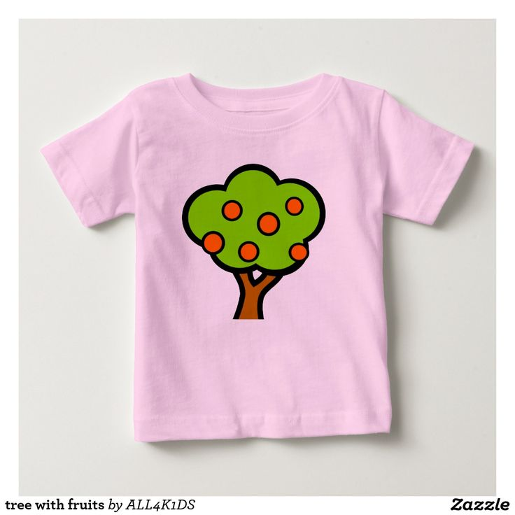 tree with fruits baby T-Shirt kids