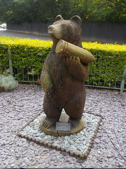 Voytek, fue un oso que formó parte de las tropas polacas y es considerado un héroe de la Segunda Guerra Mundial.