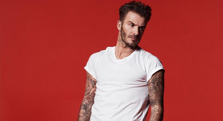 """David Beckham: """"Håll dig i form, ta tid att återfukta och drick mycket vatten"""""""