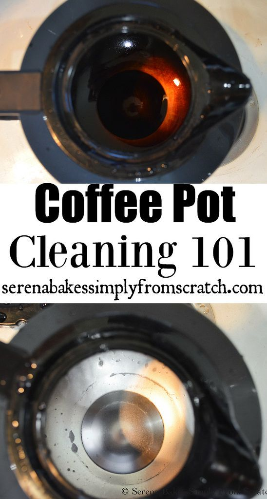 How to clean a Stained Stainless Steel Coffee Pot with very little effort! serenabakessimplyfromscratch.com