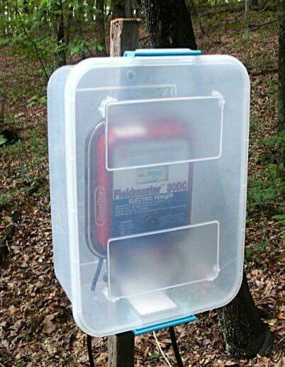 Keep Your Electric Fence Box Dry