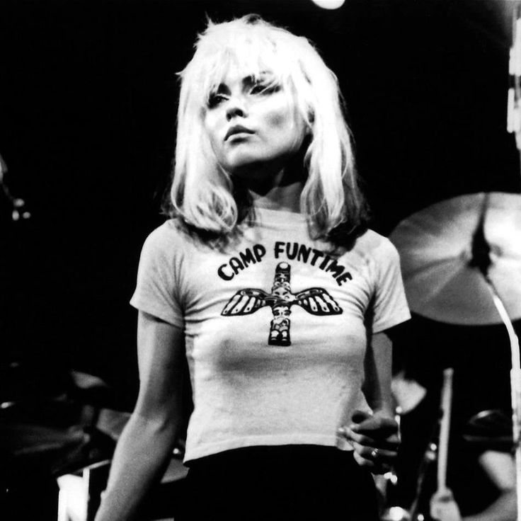 Debbie Harry is a #HairHero for her dishevelled 70s look