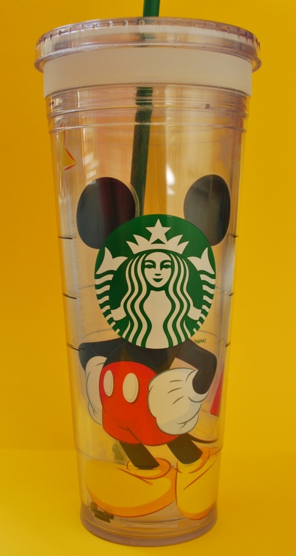 Are you a Disney and Starbucks lover? Customize...your Starbucks cold cup..
