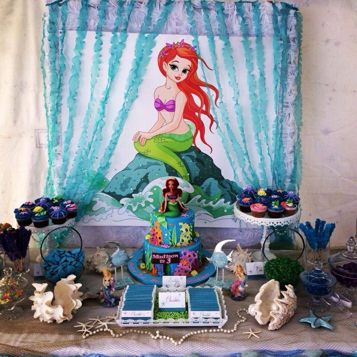 83 best Little Mermaid Party images on Pinterest | Little mermaids ...