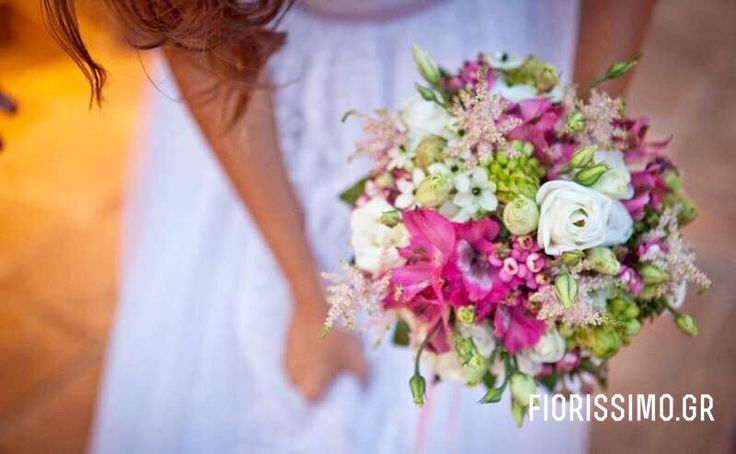 Bridal bouquet by Fiorissimo.gr