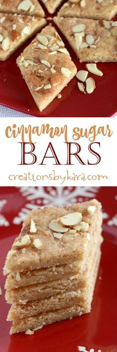 Buttery and perfectly cinnamony, these Cinnamon Sugar Bars are absolutely delicious. A perfect recipe for beginning cooks. They are easy and so pretty!