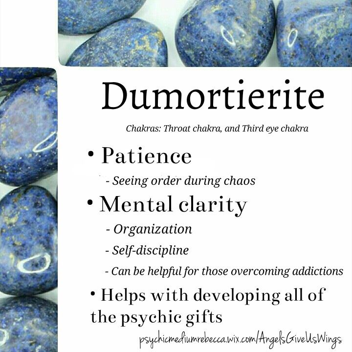 Dumortierite crystal meaning