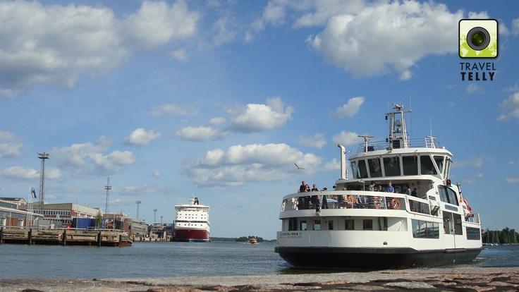 Herry in Helsinki harbor