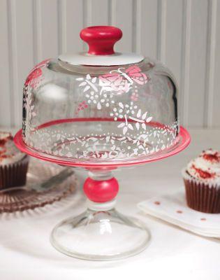 Dôme à gâteau en forme de papillon Martha Stewart Crafts